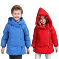 Newest Winter Girls Warm Down Parkas Boys Thick Hooded Coats 1-5Y Children's Down Jackets Thermal Fashion Clothes Outdoor SC638