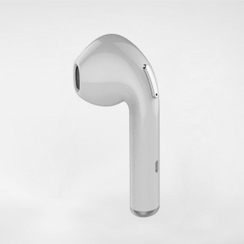 Bluetooth Earbud Stereo Wireless Headset I7 Mini In-Ear Earphone Earpiece headphone for Xiaomi iPhone 7 7 plus 6s 6s plus wireless bluetooth 4 0 headset headphone earphone earbud stereo one ear 10 hours talk time