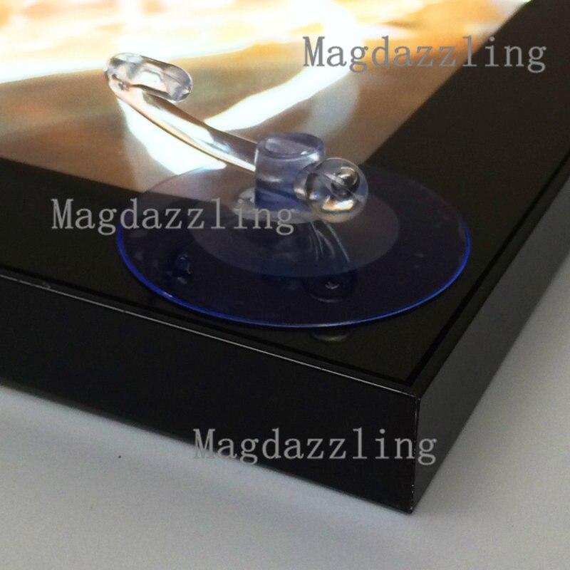 A1 (65x90 CM) magnetischer Dünner Aluminiumrahmen LED ...