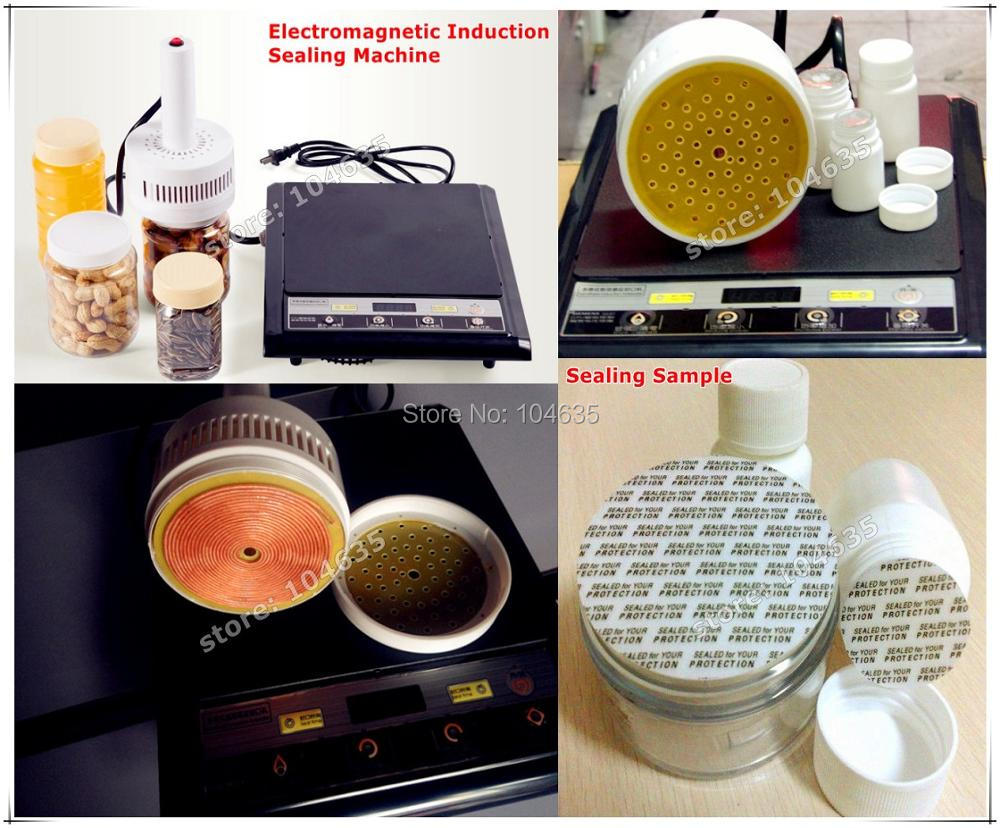 100% Warranty 220V Portable induction bottle sealing machine/Plastic bag sealing machine(seal size:20-80mm) warranty 100