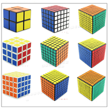 Plastic Magic Cube Speed Square Stickers Set Smooth Antistress Neocube Toy Logiczne Gift Puzzle Games Classtic Toys  60K417