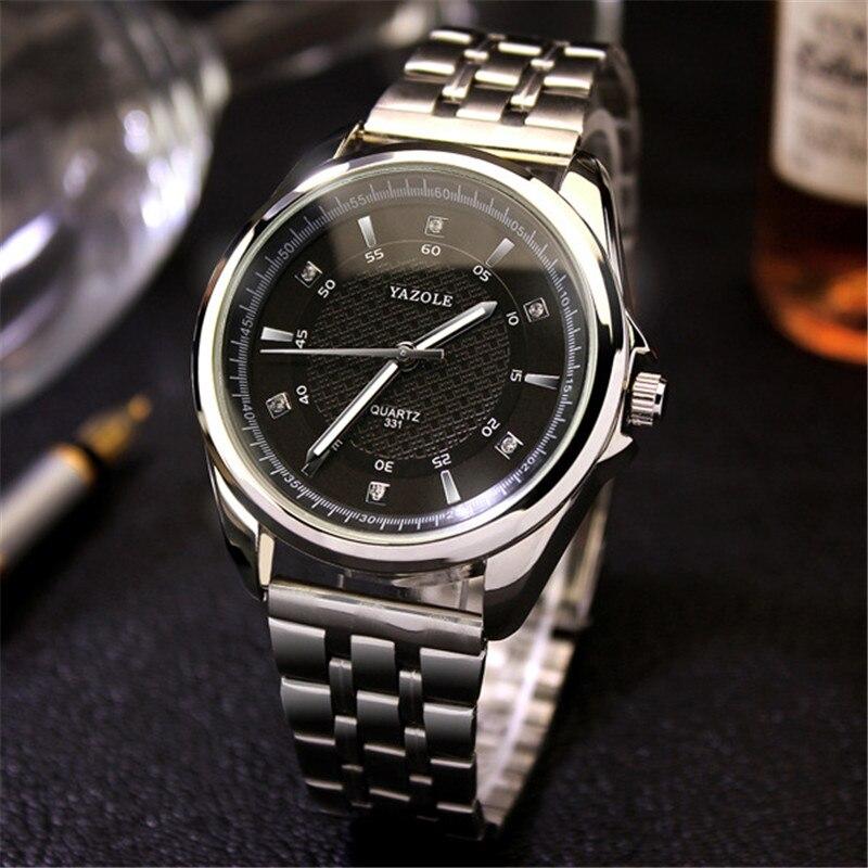 YAZOLE Men Watches 2017 Luxury Brand Wrist Watches Noctilucent Waterproof Quartz Watch Relogio Masculino YD331 G