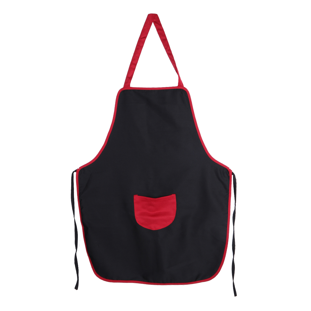 1 pcs Women Apron with 1 Pockets Chef Waiter Kitchen Restaurant Cooking Tool Household Cleaning Halterneck Apron E5M1