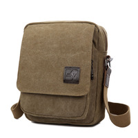 New Canvas Bag Men S Shoulder Bag Men S Leisure Bag Korean Messenger Bag Multi Functional