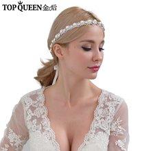 Topqueen h71 классические свадебные аксессуары для волос женщин