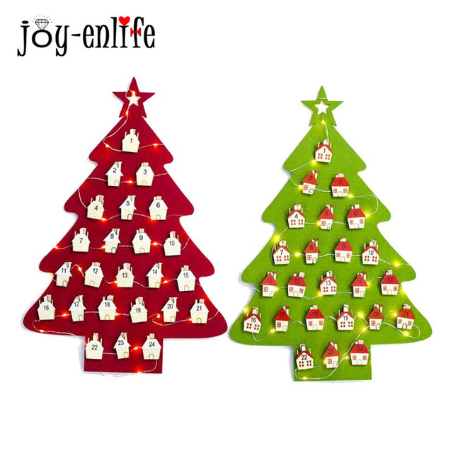 1pcs Christmas Tree LED Light Merry Christmas Party Decoration DIY ...