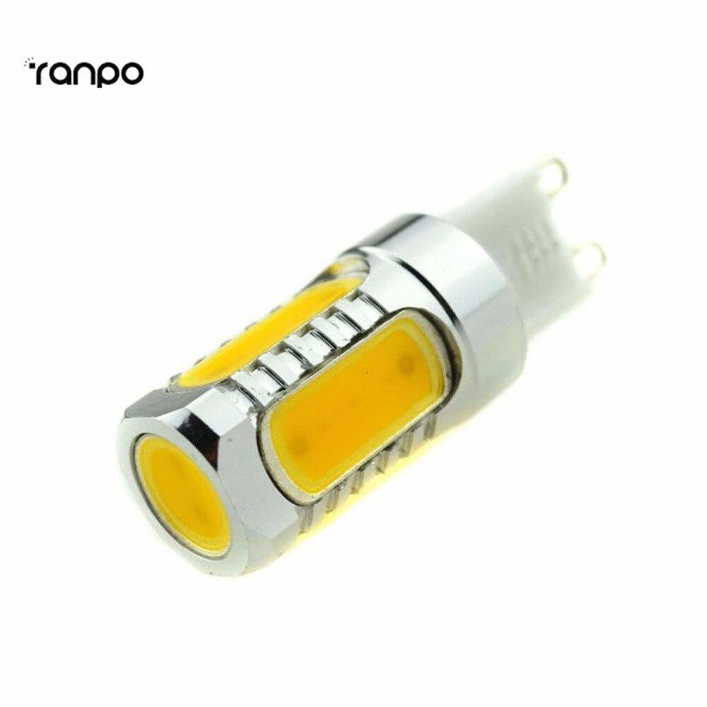 10X Wholesale G4 G9 8W LED COB Capsule Lighting Bulbs Lamps White 240V DC 12 V Replace Holgen Spotlight Chandelier Lampada