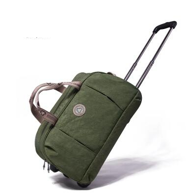 Travel Trolley Bag Cabin Size Boarding Luggage Bags Rolling Bag With Wheels For Women Travel Duffel  Wheeled Travel Luggage Bag