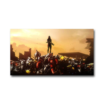 Плакат гобелен Mass Effect