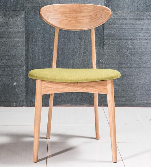 Высокое качество Soild обеденный стул из дерева гостиничные стулья - Цвет: burlywood