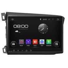 10 inch Android Quad Core 1024*600 Fit HONDA CIVIC 2012 2013 2014 2015 2016 Car DVD Navigation GPS Radio