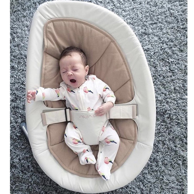 Multifunctional Comfort Rocking Baby Sofa Chair Seat Aluminum Base Semi-automatic Infantil Bay baby toy 0 12 month