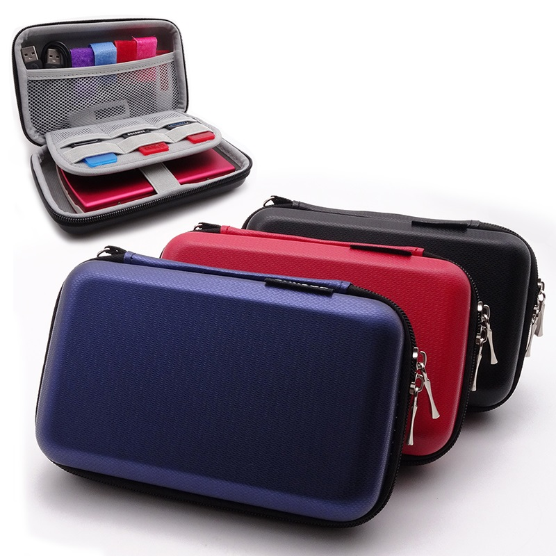 GHKJOK 2.5 inch HDD Protection Bag Hard Drive Storage Case for External Portable HDD SSD U Disk Power Bank Pen drive