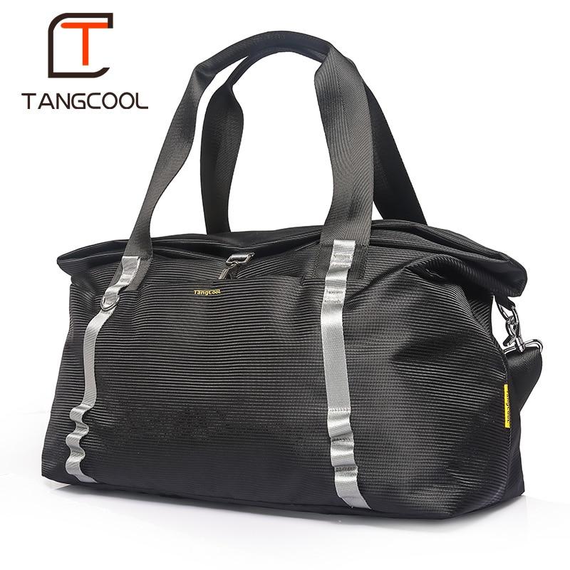 Tangcool Business travel bag men s lightweight large capacity duffel bag multi function waterproof messenger bag