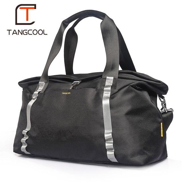Tangcool leve-grande capacidade mochila saco de viagem de Negócios dos homens saco de multi-função à prova d' água saco do mensageiro bolsa pendurada