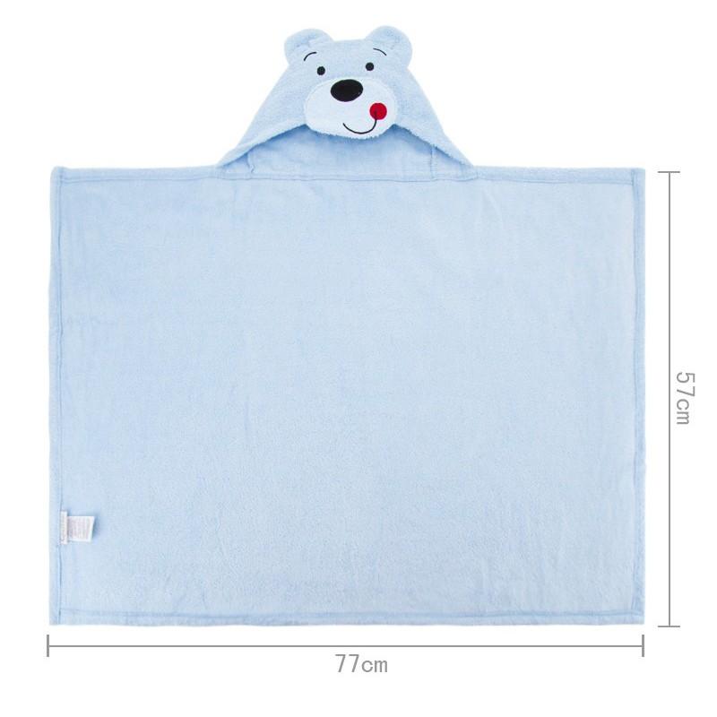 Hot Sales 3 Styles Cartoon Hooded Animal Baby Bathrobe Cartoon Baby Towel Character Kids Bath Robe Infant Towel (11)