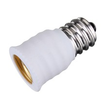 2pcs/lot E12 To E14 Base LED Bulb Lamp Holder Light Adapter Socket Converter Lighting Accessories Lamp Base(China)