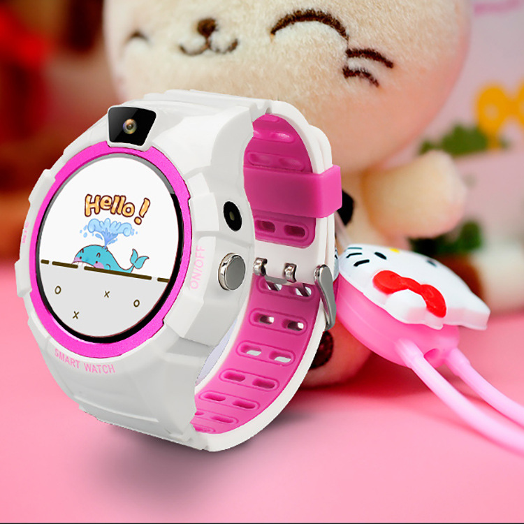 Buy 2018 Child GPS Smart Watch IOS Android 1 4 Inch Round Screen SOS