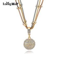 Long Sale Gold Necklace