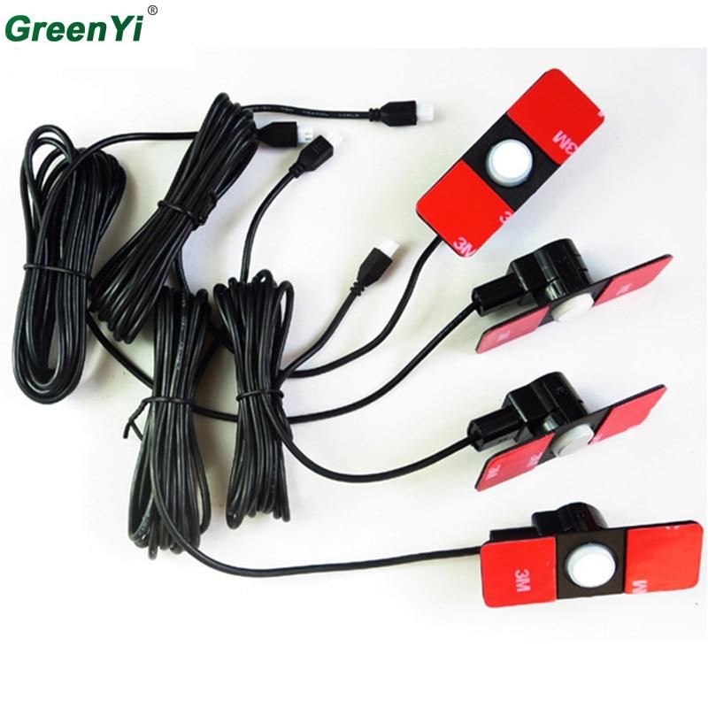 4 шт./лот Оригинал парковка Сенсор s 16 мм без каблука Сенсор автомобильный радар парктроник помощь, черный, серебристый цвет белый красный синий, серый