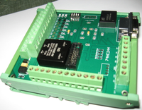 Current / Frequency Measurement / Count / Pulse Output High Precision Analog A/D16 Differential Acquisition Card RS232 PLC