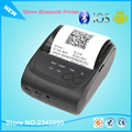 58mm Impresora Bluetooth Portátil Impresora Mini Impresora Móvil Adroid Envío con SDK + Cinturón Caso