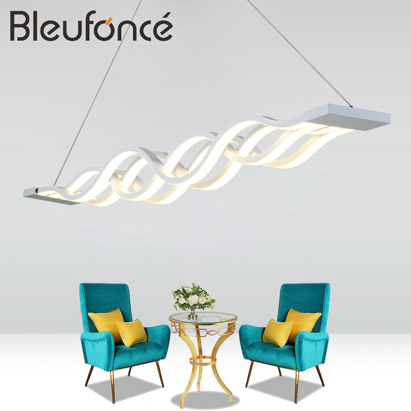 home interior Pendant Light living room bedroom decoration Lamp AC85-265V Pendant Lights 80W LED Pendant Lamps lighting BL185 novelty magnetic floating lighting bulb night light wood color base led lamp home decoration for living room bedroom desk lamp