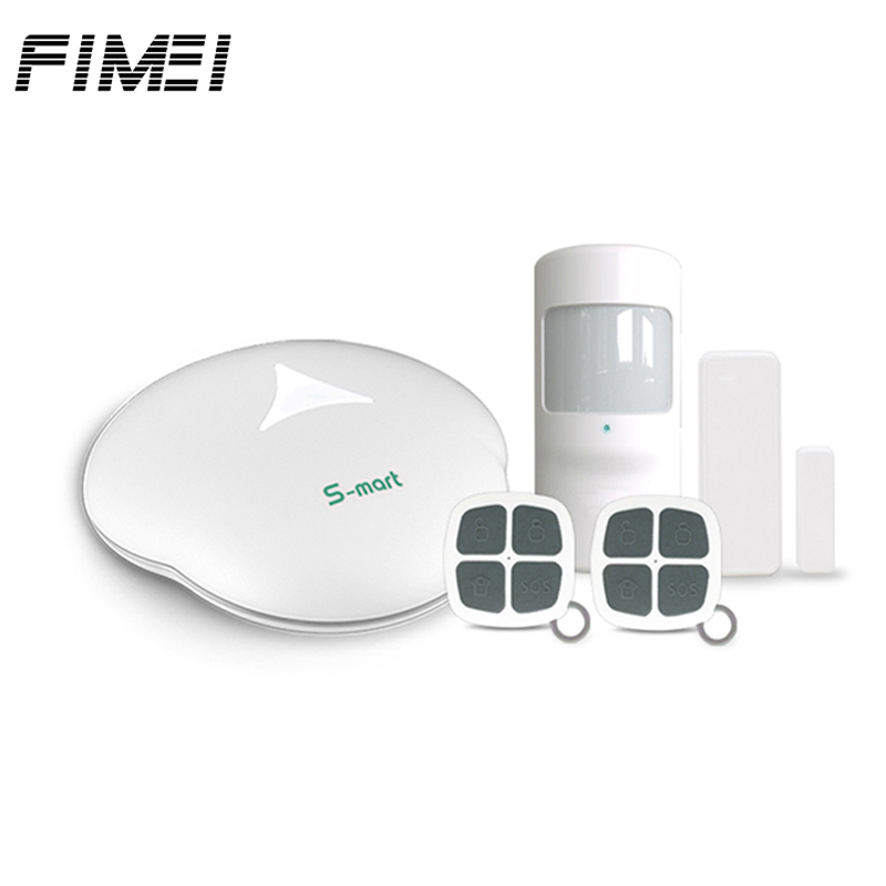 GS S3 WiFi Wireless Alarm Systems Security PSTN PIR House Alarm Security System Mainframe Kits with Remote Controller