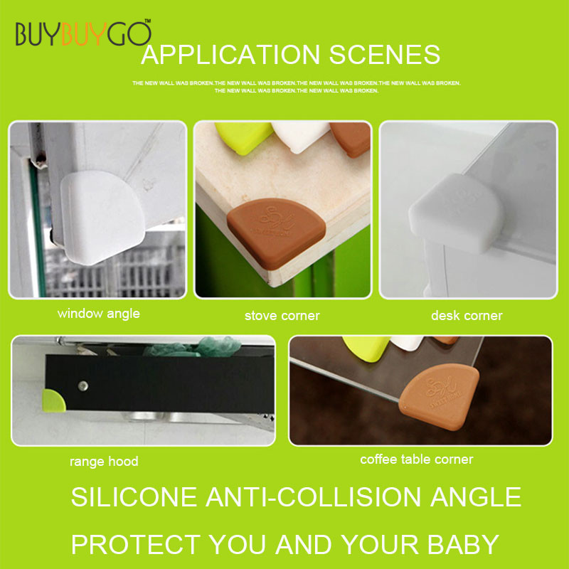 24 Pcs Corner Guards Baby Safety Products Silicon Protector