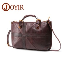JOYIR New Genuine Leather Women Messenger Bag Casual Vintage Shoulder Ladies Handbag Crossbody Bags For 2019