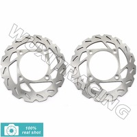 ATV Quad Front Brake Disc Rotor For YFM 550 4WD EPS Grizzly Auto FI 4x4 09