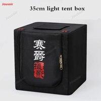 35cm Mini Studio set Led 2 led panel light box small shooting simple photo equipment portable soft Shed CD50 T03