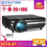BYINTEK MOON BT96Plus Android Wifi умный видео светодиодный проектор для домашнего кинотеатра Full HD 1080 P Поддержка 4 K онлайн видео