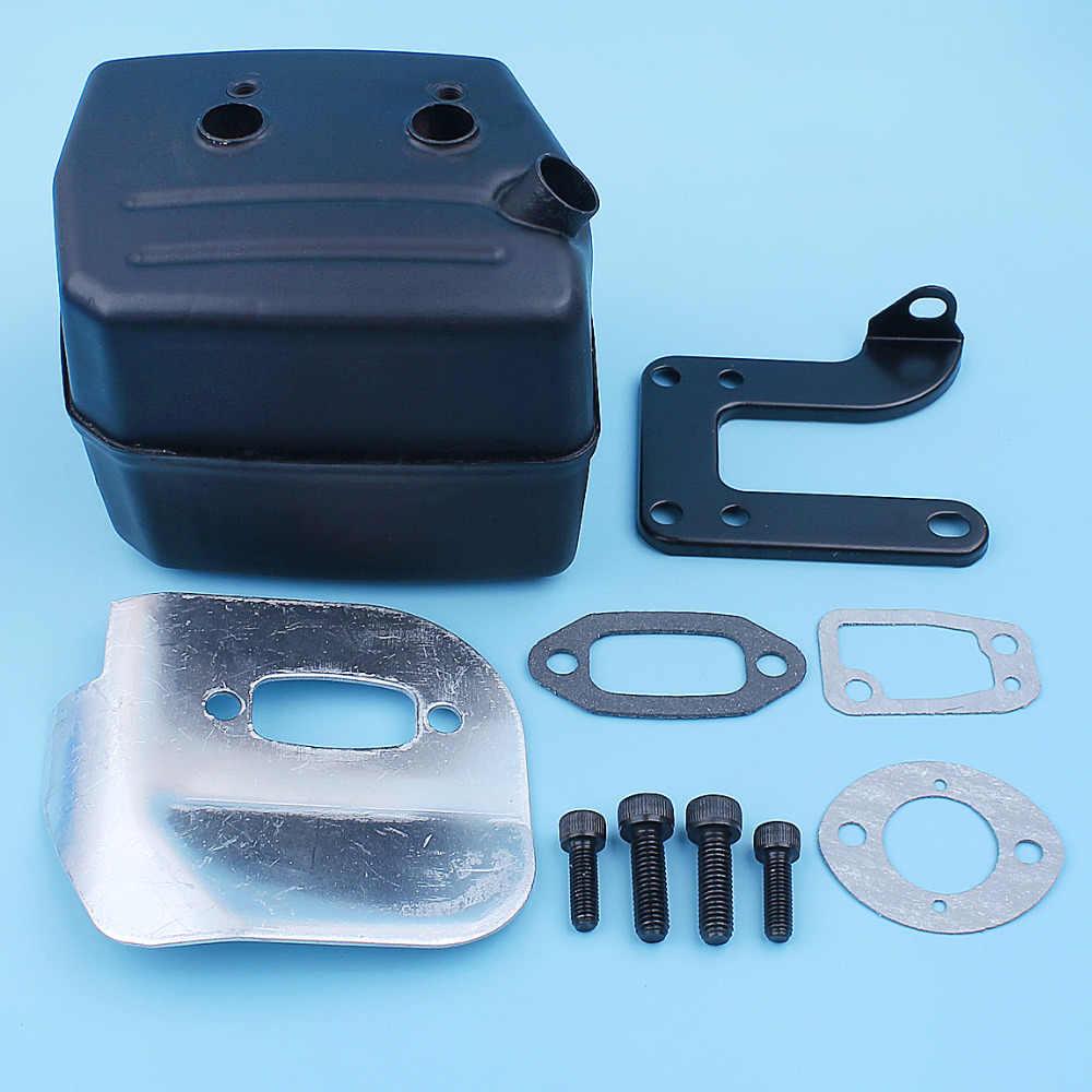 Muffler Bolt Screw Set For Jonsered 625 630 670 Chain Saw 5 x 16 mm /& 6 x 20 mm