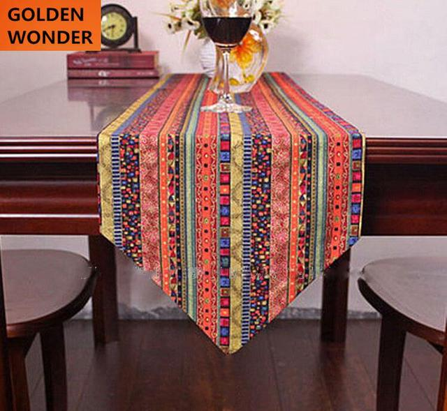 Merveilleux Southeast Asian Style Tablecloth Bed Flag Fringe Folk Table Runners Table  Runner Home Decoration Cheap Free