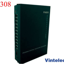 Высокое качество VinTelecom SV308 телефонная атс система 3CO+ 8Ext АТС/Мини АТС/телефонная система SOHO АТС/Малый АТС