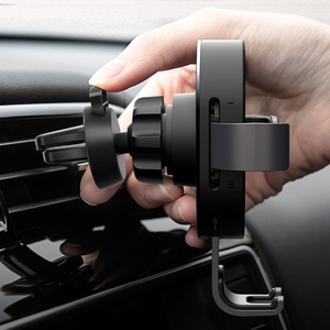 Image 5 - Xiaomi 70mai Qi Wireless Charger For iPhone XS Max X 10w Fast Wirless Charging Car Charger Phone Holder Bracket For Samsung S10