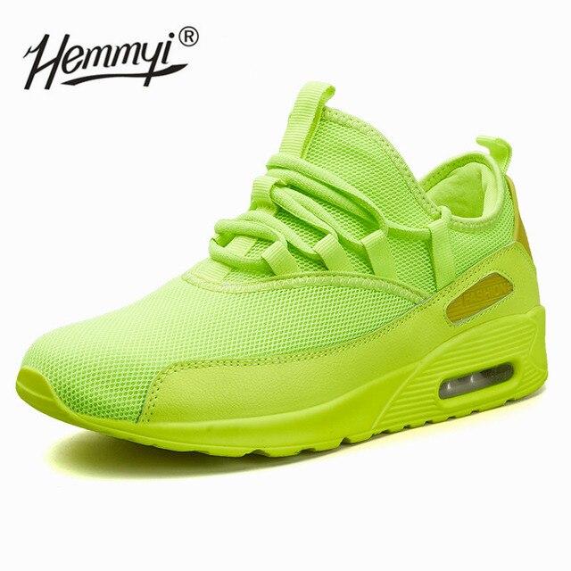 Hemmyi Thiết Kế New Arrivals Sneakers Phụ Nữ Unisex Giỏ Femme Đen Trắng Đỏ Màu Xanh Lá Cây màu vàng Giản Dị Tenis Feminino Thời Trang Giày