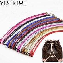 YESIKIMI сумка, аксессуары, шнурок для сумки-ковша, качественная сумка из искусственной кожи, длина 100 см, ремень для сумки