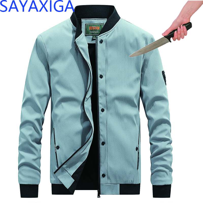 New Design Self Defense Cut Resistant Anti Stab Clothing Anti Sharp Police Casual Defense Jacket Coat Hooded Outwear Stealth Top Back To Search Resultsmen's Clothing Jackets & Coats