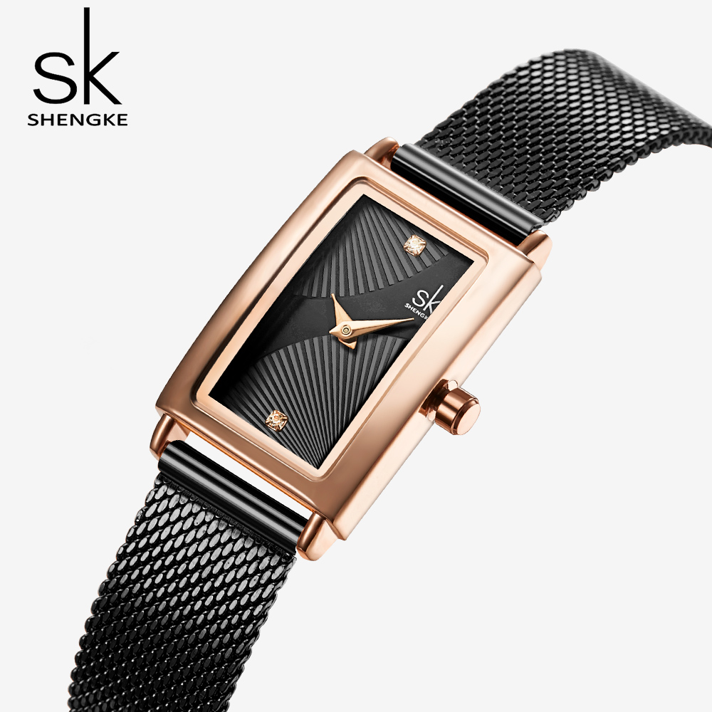 Women Watches Luxury Famous Brand 2020 Golden Quartz Ladies Elegant Woman Watches Small Female Clock Lady Wrist Watch For Women(China)