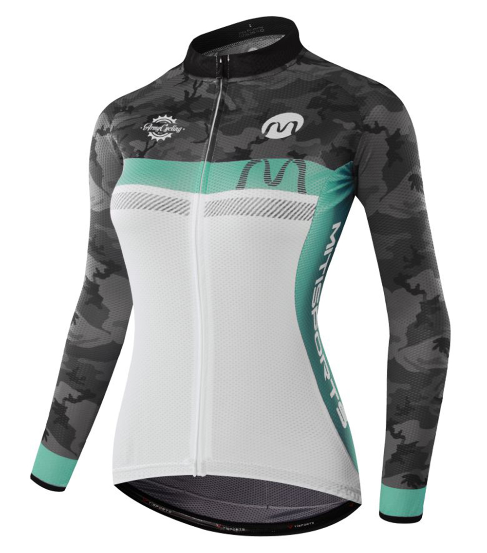 MTSPS 2018 Women Pro Cycling Jersey MTB Bicycle Clothing  Dry Fit Breathable 100% Polyester FabricMTSPS 2018 Women Pro Cycling Jersey MTB Bicycle Clothing  Dry Fit Breathable 100% Polyester Fabric