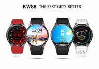 KW88 Android 5.1 OS Smart Watch Electronics Android 1.39 inch MTK6580 SmartWatch phone support 3G wifi nano SIM WCDMA smart watch smartwatch phone watch smart watch -