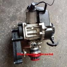 49cc двигатель с коробкой передач мини Байк внедорожный велосипед для 49CC дети мото бренд