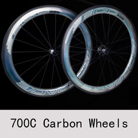 ECC N85 3D Reflex Bicycle Wheel 700c Carbon Wheels Road Bicycles Carbon Rim 56mm Bearings Wheels