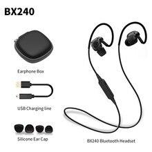 Wholesale PLEXTONE BX240 Wireless Bluetooth Earphone Sweatproof Sport Headset Stereo Headsets With Mic for iPhone Samsung HTC Huawei