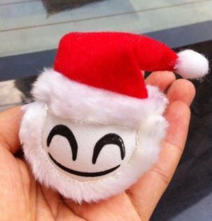 Muy buena calidad decorativa bola de la antena exterior antena coche INTELIGENTE de Santa Claus