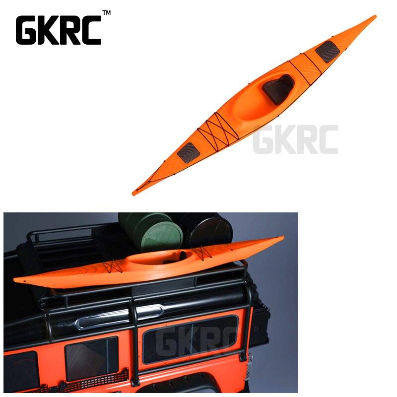 Alta calidad 3D impreso kayak modelo 1/10 RC Crawler coche Traxxas TRX4 D90 D110 Axial Scx10 90046 Ford de 90047. bronco