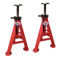 30 Ton Car Heavy Duty Pneumatic Jack Stand Adjustable Height Lifting Jack Automovile Heavy Duty Foldable Jack Stand Screw Jack