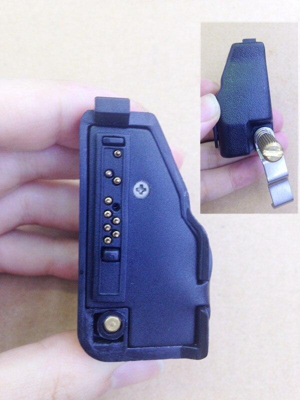Audio écouteurs adaptateur à 2 broches K plug pour KENWOOD TK385, TK3180, TK480, TK280, TK190, TK3148, TK2180, TK390, TK380 etc talkie walkie